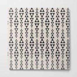 Triangles by PIEL Metal Print