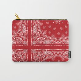 Red Bandana Carry-All Pouch