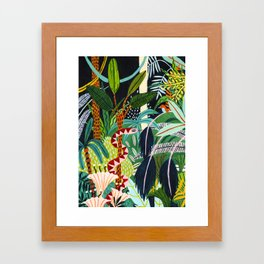 The Jungle at Midnight Framed Art Print