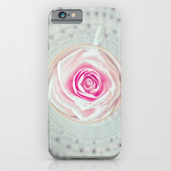 A Cup Of Rose iPhone & iPod Case