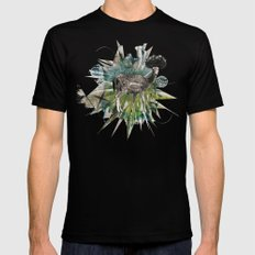 Greenspace SMALL Black Mens Fitted Tee