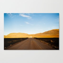 Plaine des sables Canvas Print