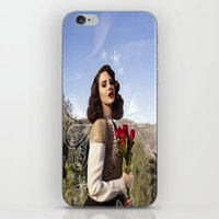lana iPhone & iPod Skins featuring Lana by Claudia