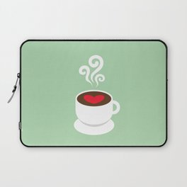A Cup of Love Laptop Sleeve
