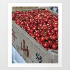 Chinese Cherries  Art Print