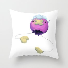 Drifloon Throw Pillow