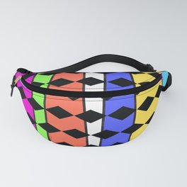 Diamonds and rainbows Fanny Pack