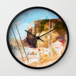 Etretat-France Wall Clock