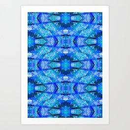 square waves Art Print