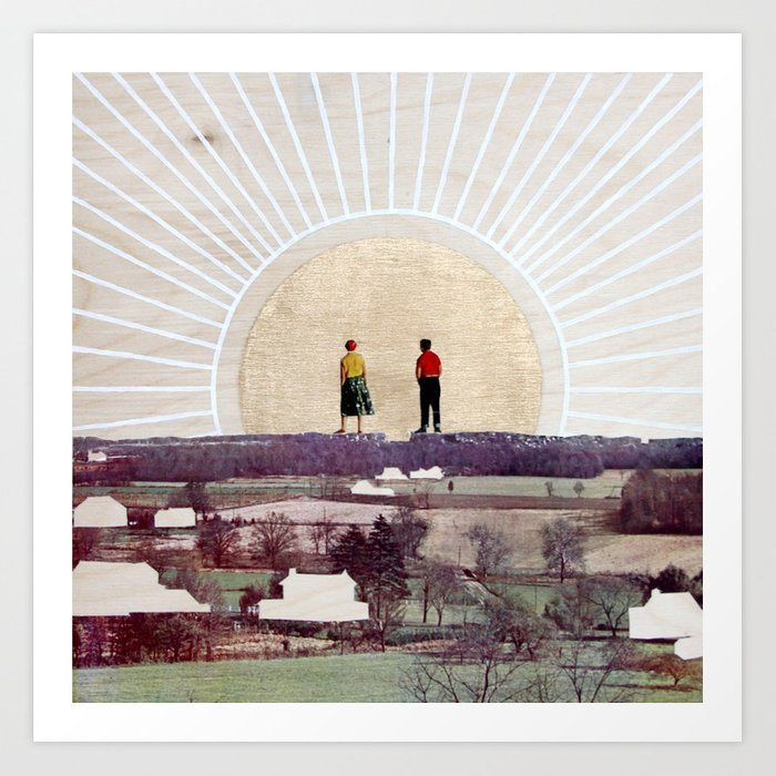 Back to the Earth Art Print