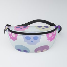 Colorful Skull Cute Pattern III Fanny Pack