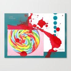 Swizzle Stick Canvas Print