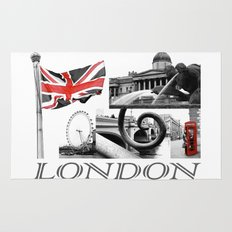 London Reds Rug