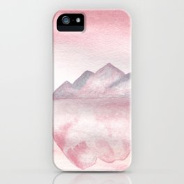 Pink Iceberg iPhone Case