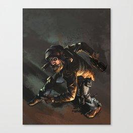 The Aviator Canvas Print