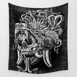 Serpent Warrior Wall Tapestry