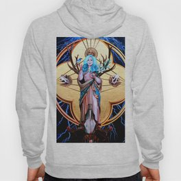 Ecos of Thunder Painting Hoody