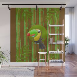Excited Toucan! Wall Mural