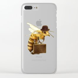 Worker Bee Clear iPhone Case