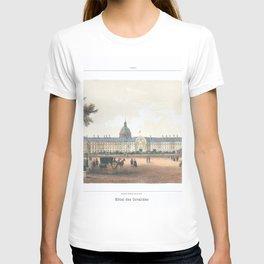 Paris art print Paris Decor office decoration vintage decor HOTEL DES INVALIDES of Paris T-shirt