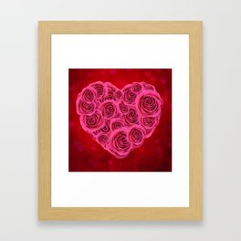Nothing But Love Framed Art Print