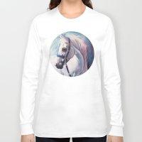 horse Long Sleeve T-shirts featuring Horse by Slaveika Aladjova