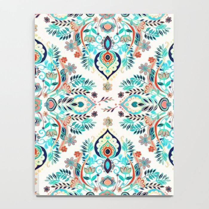 Modern Folk in Jewel Colors Notebook