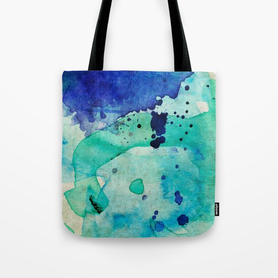 Pastel Color Splash 02 Tote Bag