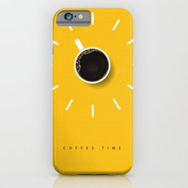 Coffe time iPhone Case