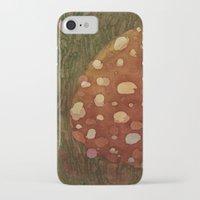 mushroom iPhone & iPod Cases featuring mushroom by rysunki-malunki