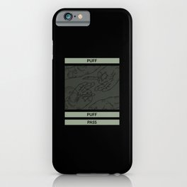 Don't panic it's organic joint cat iPhone Case