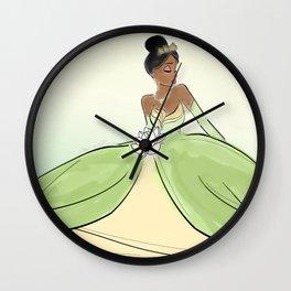 Princess Tiana. Wall Clock