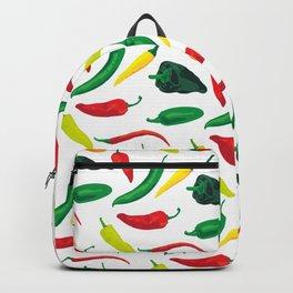 Chili Pepper Pattern Backpack