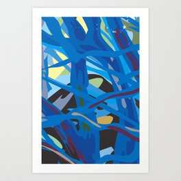 Inside Thoughts Art Print