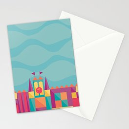 It's a small world after all   Disney inspired Stationery Cards