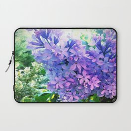 Lilacs in Bloom Laptop Sleeve