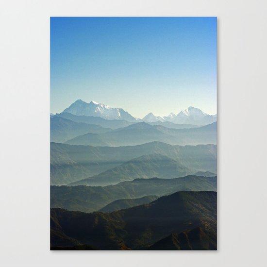 Hima - Layers Canvas Print