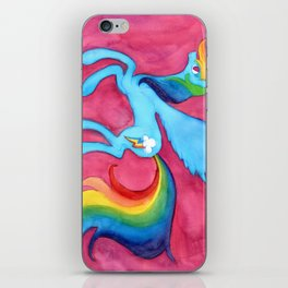 Rainbow Dash iPhone Skin