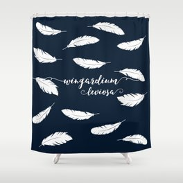 Wingardium Leviosa Shower Curtain