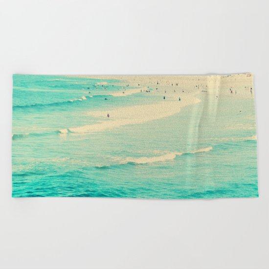beach sunday Beach Towel
