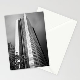 Unique curved shape facade of Aurora Place in Sydney Stationery Cards
