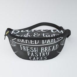 Bakery Chalkboard poster Fanny Pack