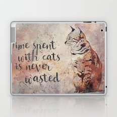 Time spent with cats Laptop & iPad Skin