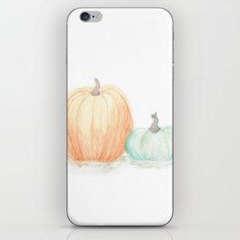 Autumn Pumpkins iPhone Skin