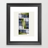 closed#05 Framed Art Print