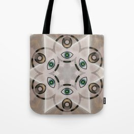 Yin Yang Mandala Tote Bag