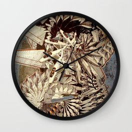 The Jetplane Spiral Wall Clock