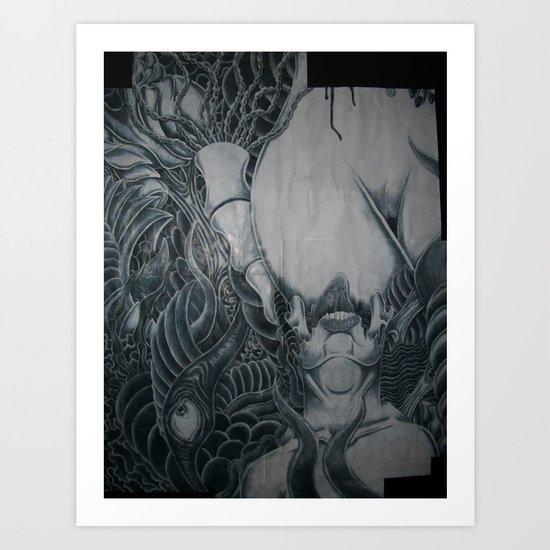 Head Taker Art Print