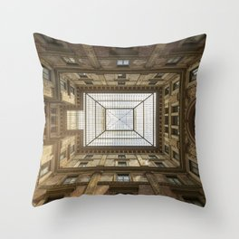 Galleria Sciarra Throw Pillow