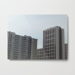 New construction of a new residential complex Metal Print